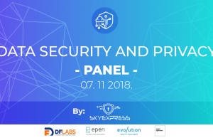 "Panel diskusija ""Data security and privacy"""