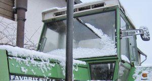Odrzavanje traktora zimi