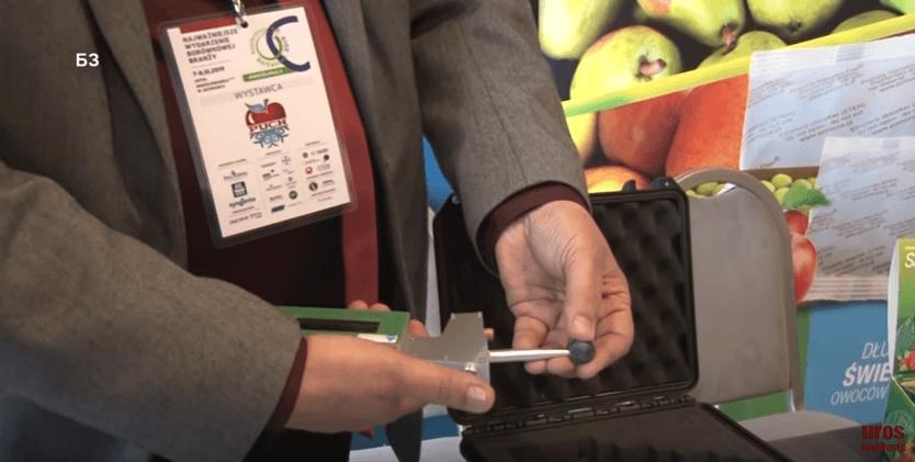 uređaj za merenje zrelosti ploda borovnice